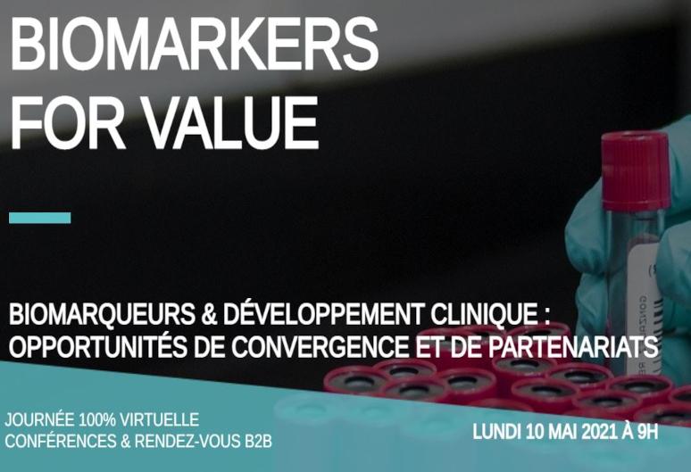 """L'ARIIS et France Biotech s'associent pour organiser l'événement """"Biomarkers for Value"""" le 10 mai 2021 ! """
